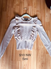 Soft pink sweater- never worn Cambridge, N1R