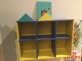 Child's storage shelf