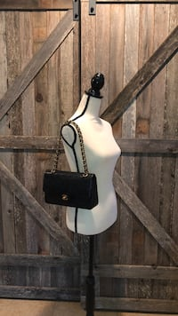 Chanel double flap 25 quilted Cc logo Olney