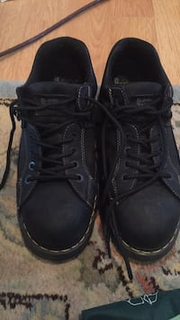 black Dr. Martens leather work boots Germantown, 20874