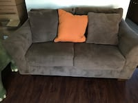 Brown suede sofa and love seat  Garden Grove, 92843