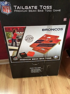 Official NFL CORN HOLE SET
