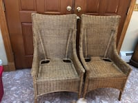 Three Pier One wicker chairs.. good condition..Rome pick up!   Rome, 13440