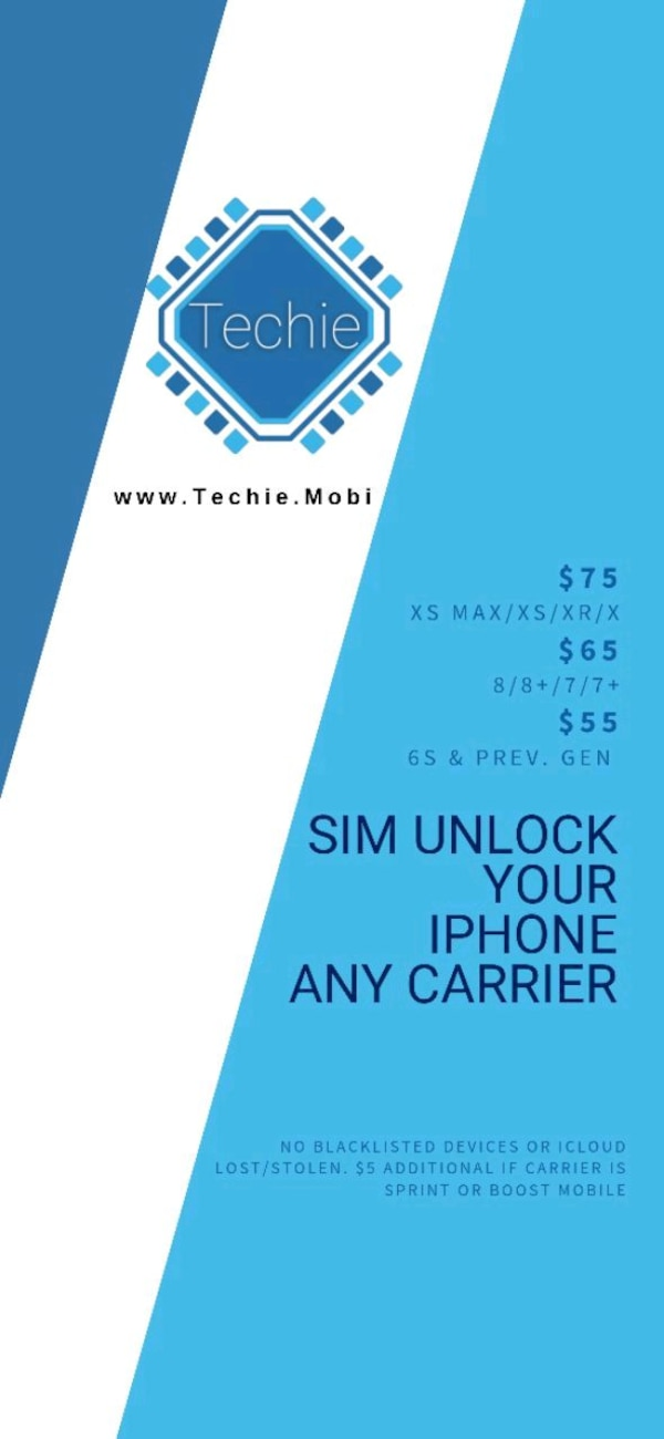 iPhone 8+ Carrier Unlocking Service