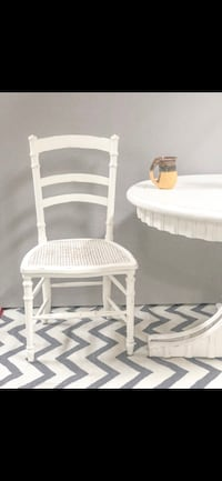 white wooden framed padded armchair Los Angeles, 91342