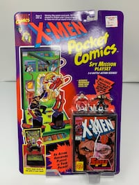 BRAND NEW Vintage X-Men Pocket Comics: Spy Mission Playset (Features Spy Wolverine & Omega Red) Washington, 20016
