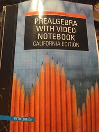 Prealgebra with video notebook by Charles P. McKeague