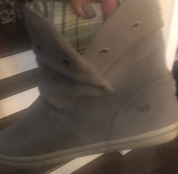 DC women's grey suede boots ~ women's 10 ~ retailed $125+ 84ae1283-afe8-41d6-85f7-48a4a698ff9f