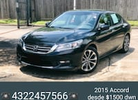 Accord desde $1500 dwn payment financing at home  Odessa