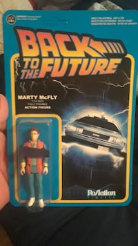 Back to the future packaged action figures  Hamilton