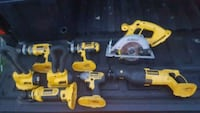 Dewalt 18v lot Connellsville, 15425