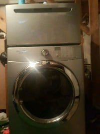 gray front-load clothes dryer Bellport, NY 11713, USA, 11772