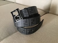 New black leather Fendi belt size 30-36 (4 pictures) Ottawa, K1T 0K4