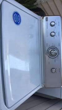 white and blue water heater Puyallup, 98374