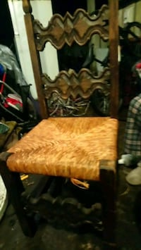 Vintage wooden chair.  Coquitlam, V3C 4M4