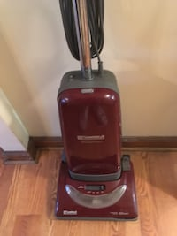 red and black upright vacuum cleaner Albany, 12206
