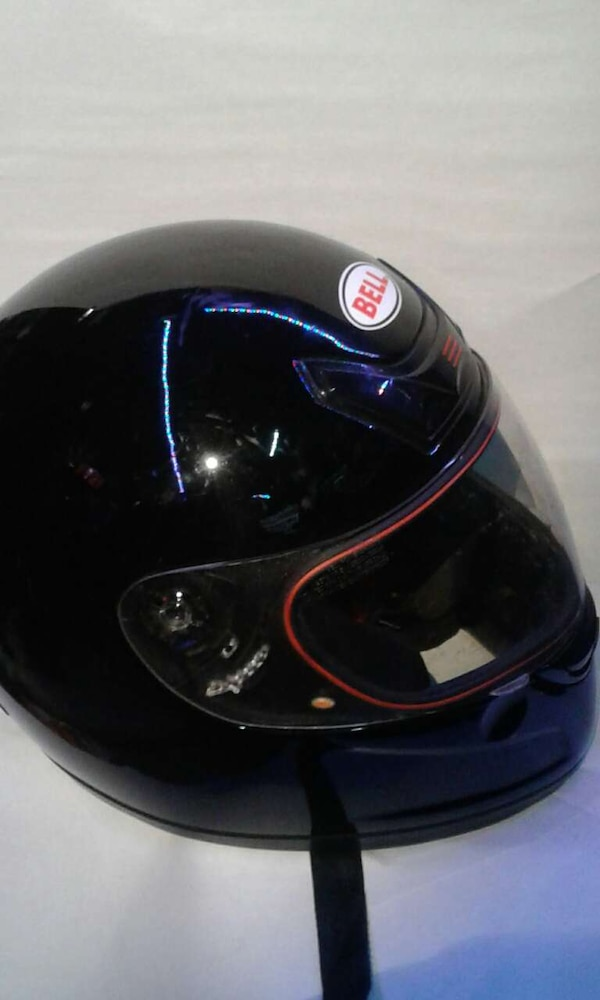 Bell Full Face Helmet >> Marietta Icinde Ikinci El Satilik Black Bell Full Face Motorcycle