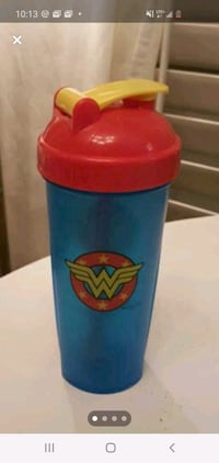 Protein shaker cup..Wonder woman