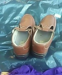 pair of brown leather mary jane shoes Kingsport, 37660