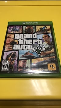 Grand theft auto five xbox game case Fairfax Station, 22039