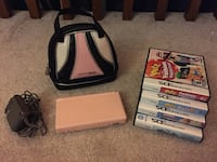 Pink Nintendo DS lite with carry bag and games Ajax, L1T 1T9
