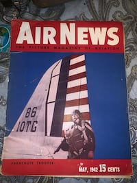 1942 air news magazine WWII  Denver, 80235