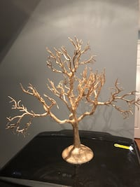 gold bare tree jewelry rack Ajax, L1S 0A4
