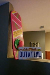 Back to the Future Hoverboard & License Plate Ocala, 34476