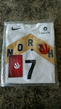 OVO Raptors Jersey Signed by Lowry
