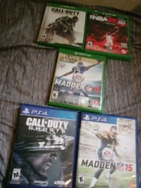 four Xbox One game cases Norfolk, 23517