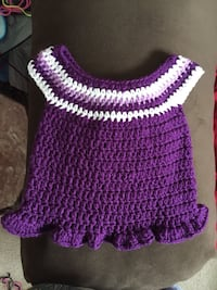 purple and white knitted dress Baytown, 77520