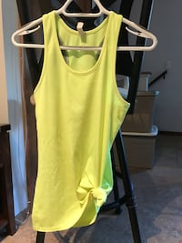 Bright yellow Under Armour top Canmore
