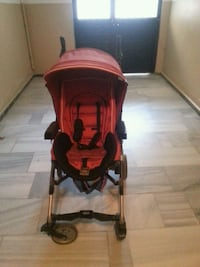 baby's red and black stroller Alibey Mahallesi, 34570