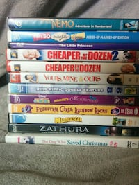 Kid's movies 26 DVDs $2 each or all for $40 Bonney Lake, 98391