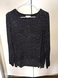 black sparkly  shirt (medium) Alexandria, 22311