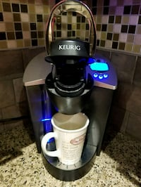 black and gray Keurig coffeemaker Richmond, V6V 3C4
