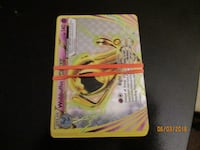 5 pack of pokemon cards 1 to 2 rares null