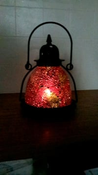 Glass Lantern  / Candleholder - SEE MY OTHER ITEMS