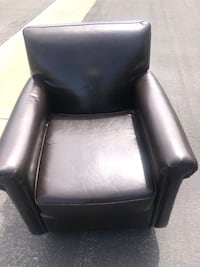 Genuine leather chair Lancaster, 93536