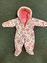 Winter warm toddler baby girl hooded onesie coat jumpsuit  North Providence, 02911