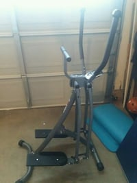 black and gray stair stepper trainer Madison, 35758
