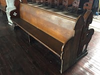 Church Pews - old wood great condition  Jersey City, 07302