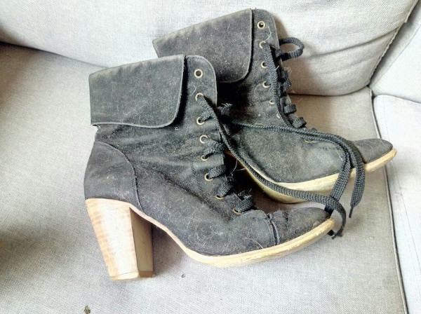 black period costume ankle boots