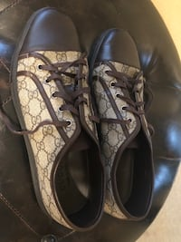 Pair of brown Gucci shoes, men's size 11 Poway, 92064