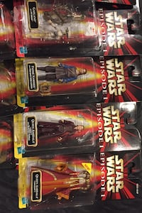 Star Wars Episode 1 Action Figure and Comm Tech Chip Gambrills, 21054