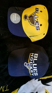 2 Blues Hats S/M size (Fitted) St. Peters, 63376
