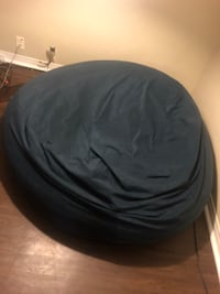 Navy blue bean bag chair 60 inch diameter  Tulsa, 74104
