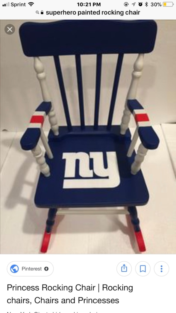 Admirable Blue White And Red Ny Rocking Chair Screenshot Pdpeps Interior Chair Design Pdpepsorg