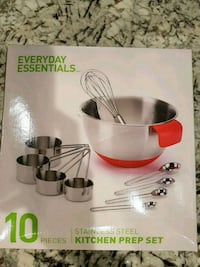 10 piece stainless steel kitchen essentials set