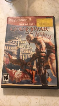 God of war PS2 Game Des Moines